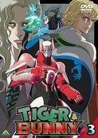 Tiger & Bunny (DVD) (Vol.3) (Japan Version)