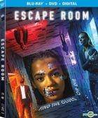 Escape Room (2019) (Blu-ray + DVD + Digital) (US Version)