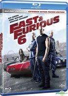 Fast & Furious 6 (2013) (Blu-ray) (Hong Kong Version)