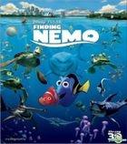 Finding Nemo (2003) (Blu-ray) (2D + 3D) (Hong Kong Version)