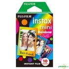 Fujifilm Mini 即影即有相紙 (Rainbow) (10張)