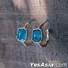 BTS : Jimin Style - Parmin Earrings (Blue Pair)