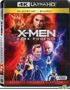 X-Men: Dark Phoenix (2019) (4K Ultra HD + Blu-ray) (Hong Kong Version)