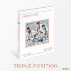 WANNA ONE Special Album - 1÷X=1 (UNDIVIDED) (Triple Position Version) (Taiwan Version)