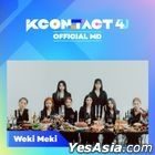 Weki Meki - KCON:TACT 4 U Official MD (AR & Behind Photo Set)