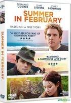 Summer In February (2013) (DVD) (Hong Kong Version)