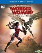 Wonder Woman: Bloodlines (2019) (Blu-ray + DVD + Digital) (US Version)