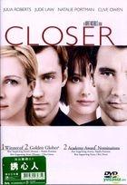 Closer (2004) (DVD) (Hong Kong Version)