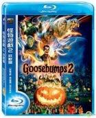 Goosebumps 2: Haunted Halloween (2018) (Blu-ray) (Taiwan Version)