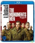 The Monuments Men (2014) (Blu-ray) (Korea Version)