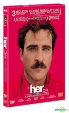 her (DVD) (Korea Version)