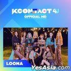 Loona - KCON:TACT 4 U Official MD (Film Keyring)