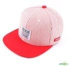Stripe Snapback (Red)