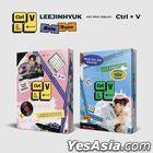 Lee Jin Hyuk Mini Album Vol. 4 - Ctrl+V (Note + None Version) + 2 Posters in Tube