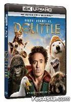 Dolittle (2020) (4K Ultra HD + Blu-ray) (Hong Kong Version)
