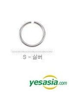 SHINee Style - Simple Chic Ear Cuff (Small / Silver)
