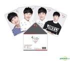 Im Si Wan (ZE:A) The First Fanmeeting Hello Goods - Postcard Set (4pcs)