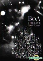 BoA THE LIVE 2009 X'mas (DVD) (初回限定版) (韓國版)