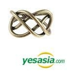 Teen Top Style - Dark Mood Ring (Gold / US Size: 6 1/2 - 7)