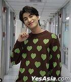 Leela : Green Heart Sweater