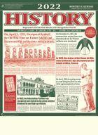History 2022 Calendar (Japan Version)
