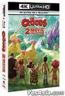 The Croods: 2-Movie Collection (4K Ultra HD + Blu-ray) (Hong Kong Version)