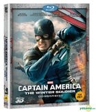 Captain America: The Winter Soldier (2014) (Blu-ray) (3D) (Korea Version)