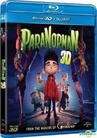 ParaNorman (2012) (Blu-ray) (2D + 3D) (Hong Kong Version)
