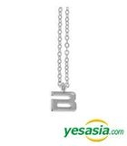 Big Bang Style - Initial Necklace (Silver / Small)