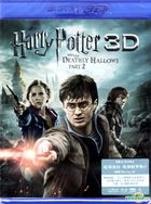 Harry Potter And The Deathly Hallows - Part 2 (2011) (3D+2D Blu-ray) (3 Discs) (Hong Kong Version)