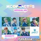 GHOST9 - KCON:TACT HI 5 Official MD (Mini Behind Photobook)