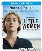 Little Women (2019) (Blu-ray + DVD + Digital) (US Version)
