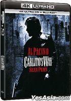 Carlito's Way (1993) (4K Ultra HD + Blu-ray) (Hong Kong Version)