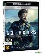 13 Hours: The Secret Soldiers of Benghazi (4K Ultra HD + 2D Blu-ray) (2-Disc) (Korea Version)