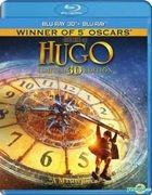 Hugo (2011) (Blu-ray) (2D + 3D) (Hong Kong Version)