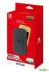 Nintendo Switch Lite Tough Pouch (Black x Red) (Japan Version)