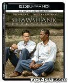 The Shawshank Redemption (1994) (4K Ultra HD + Blu-ray) (Hong Kong Version)