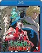 Tiger & Bunny (Blu-ray) (Vol.3) (Normal Edition) (English Subtitled) (Japan Version)