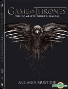 Game Of Thrones (DVD) (The Complete Fourth Season) (Hong Kong Version)