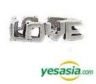 Winner Style -Love Beat Ring (US Size: 6 1/2 - 7 1/2) (Silver Burnishing)