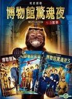 Night At The Museum 1-3 Set (DVD) (Taiwan Version)