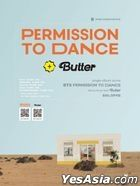 BTS Permission to Dance & Butter Piano Score