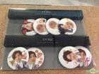 SMTOWN Pop-up Store - Dong Bang Shin Ki Magnet Button Set (4pcs) (Max)