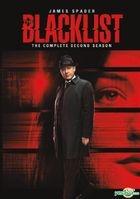 The Blacklist (DVD) (The Complete Second Season) (Hong Kong Version)