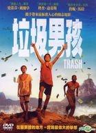 Trash (2014) (DVD) (Taiwan Version)