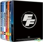 Fast & Furious (Blu-ray) (Six-Disc Steel Case Limited Edition) (Taiwan Version)