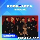 EVERGLOW - KCON:TACT 4 U Official MD (Fabric Poster)