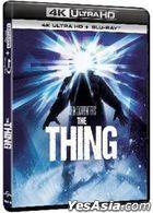 The Thing (1982) (4K Ultra HD + Blu-ray) (Hong Kong Version)