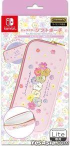 Nintendo Switch Lite Character Soft Pouch Sumikko Gurashi (Suisai Flower) (Japan Version)