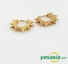 EXO & B.A.P & Infinite Style - Pointed Earrings (Gold)
